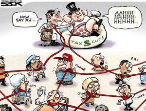 Steve Sack cartoon tax cuts