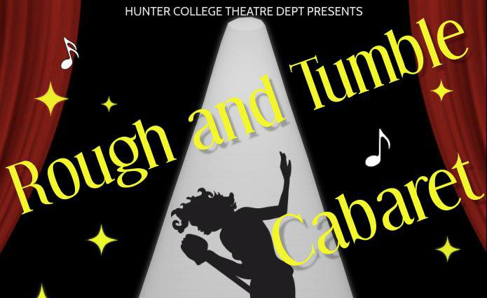 Students let loose at the mic at Rough & Tumble Cabaret