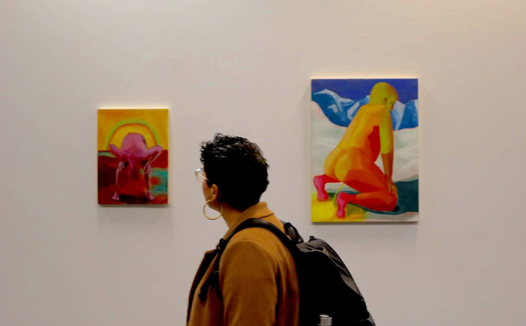Hunter arts students make play for gallery space