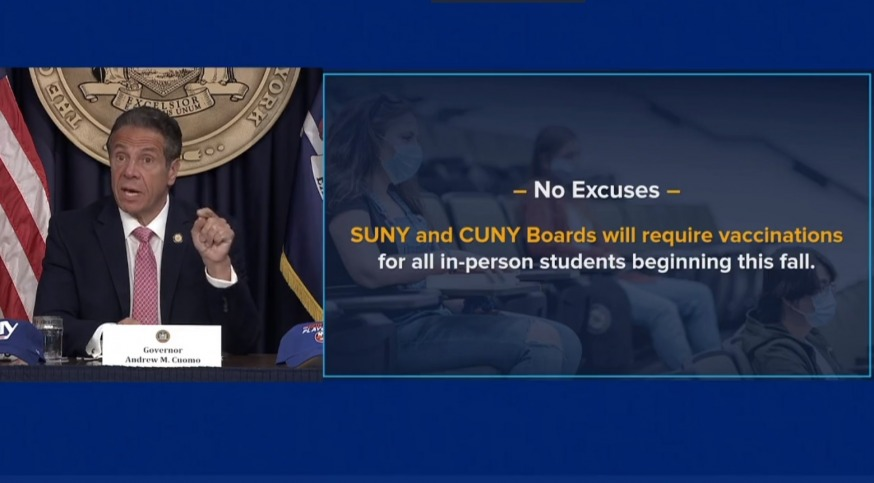 CUNY Reopening Documents Preempt New CDC Guidelines