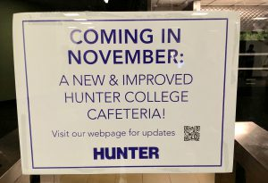 Cafeteria will open next month, and students can name it