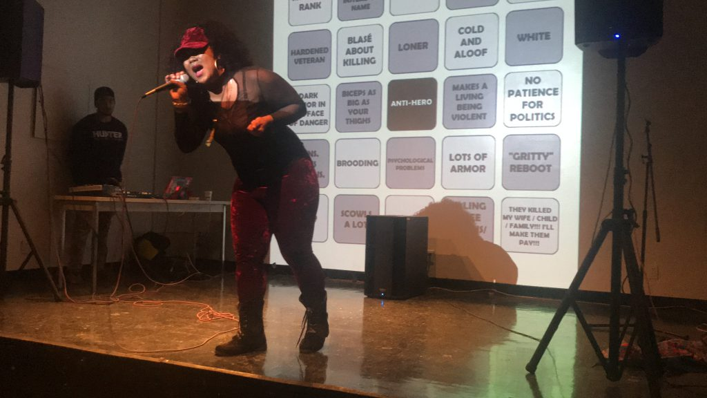 Hunter grad takes on women's issues in rap world — in song