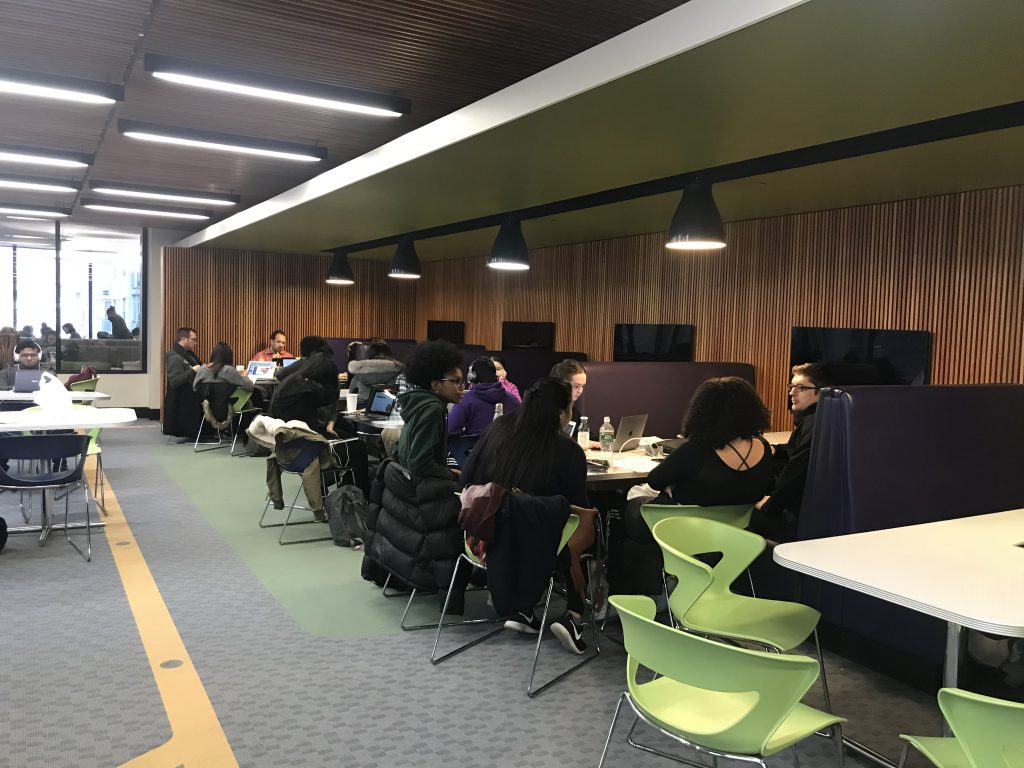 students preparing for their finals