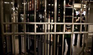 MTA Cops Put Person in Handcuffs