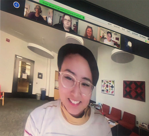 Virtual Event Connects Students with Art