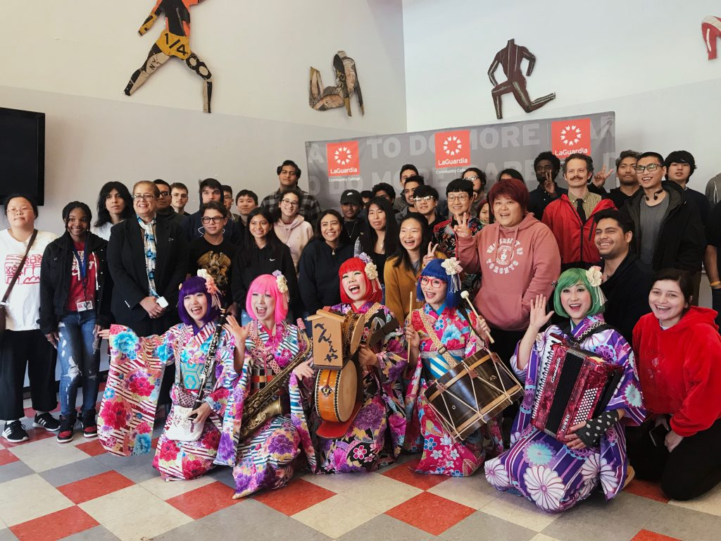 Japanese Performers Spread Multiculturalism at CUNY Through Music