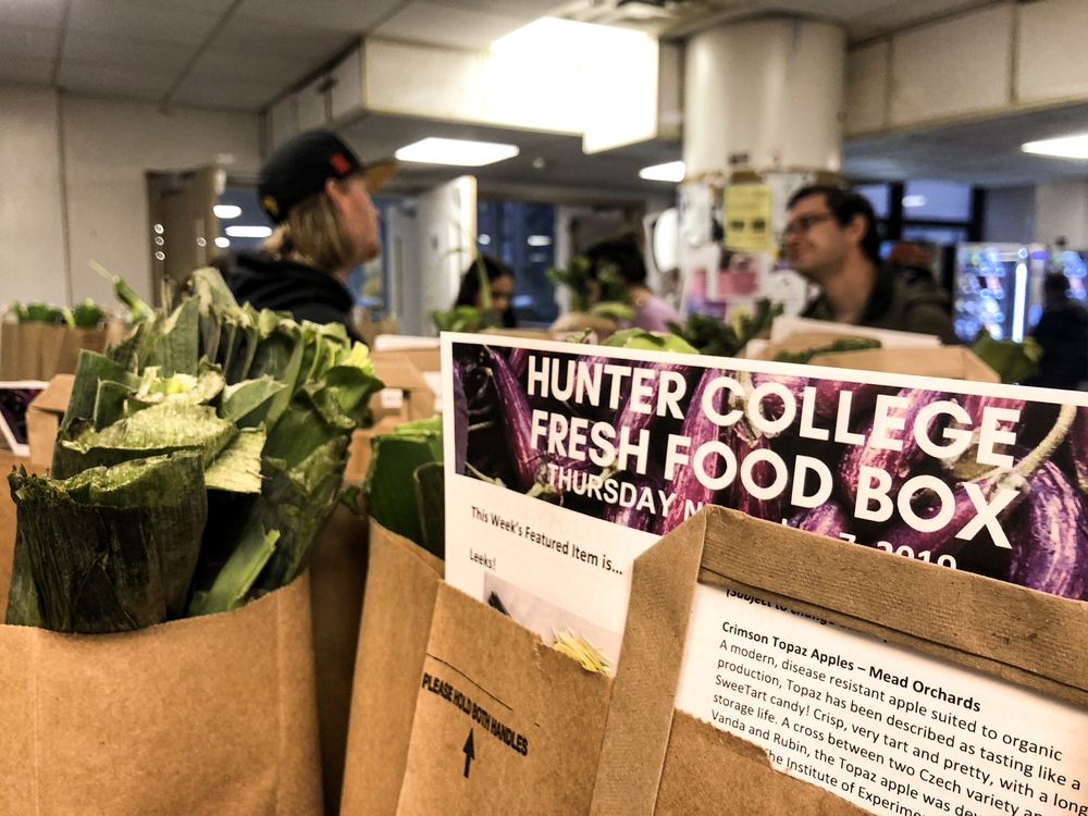 Hunter Addresses Food Insecurity With New Campus Programs