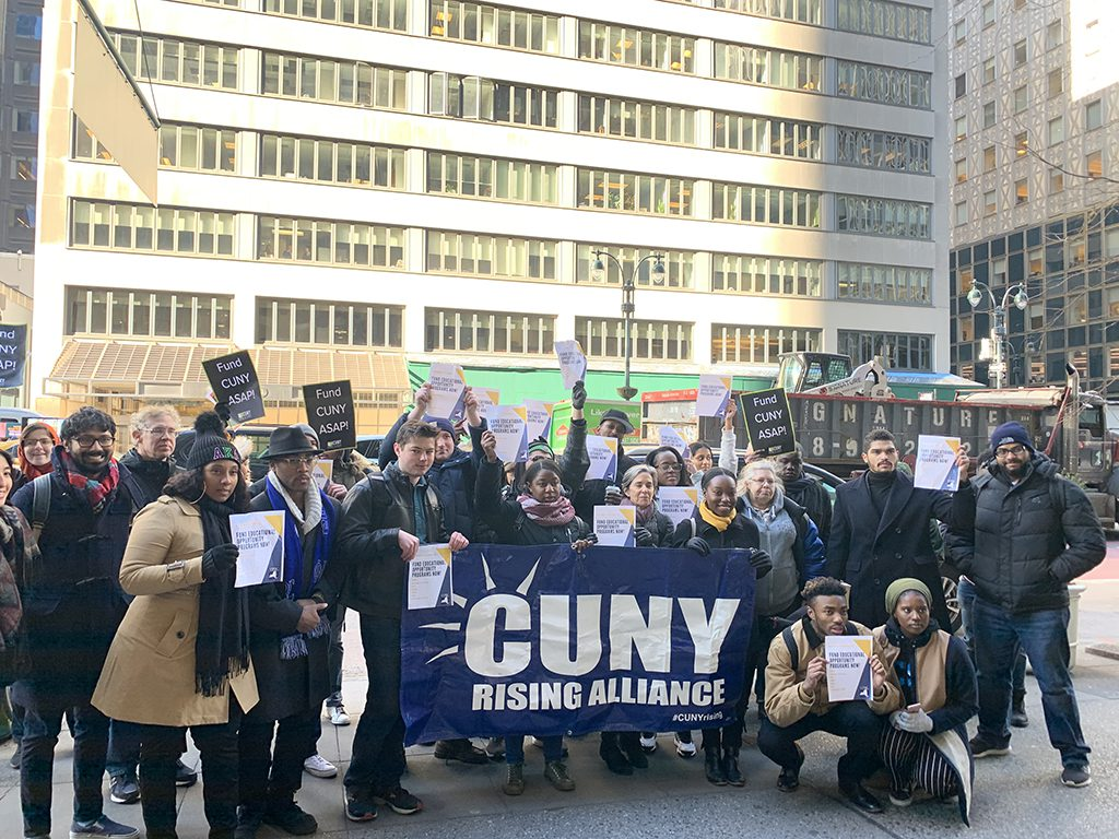 CUNY Students Demand Increased Funding for Education Opportunity Programs
