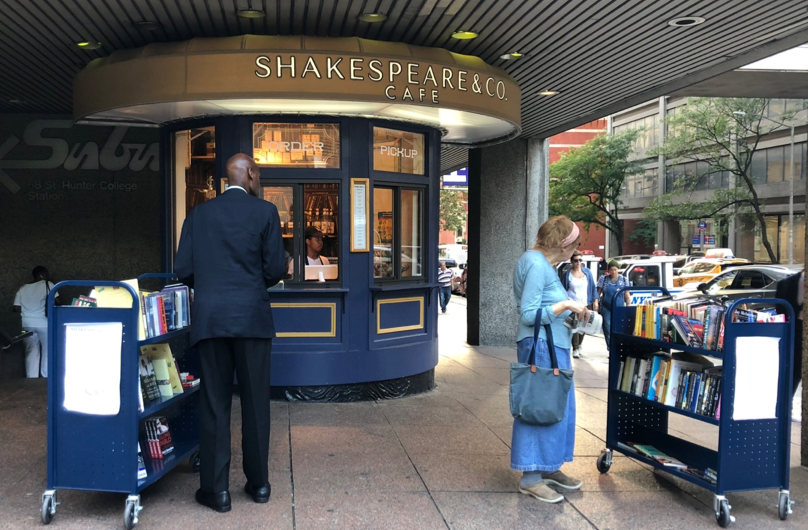 As Shakespeare & Co. expands and reinvents, kiosk opens at Hunter College