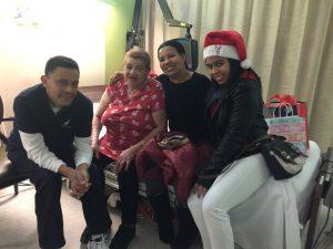 Francesca Garcia and family