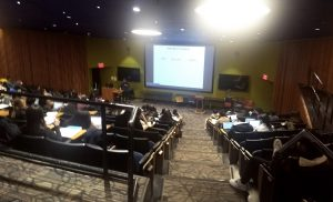 a full lecture hall