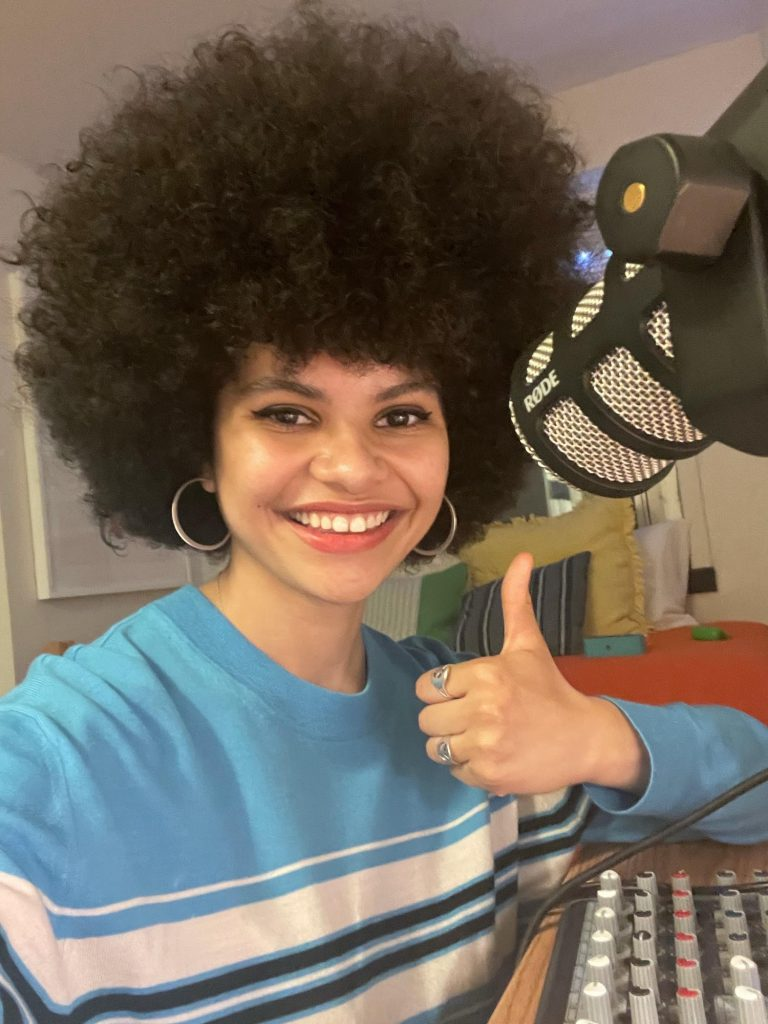 #VaxUpCUNY Enlists Student Podcaster to Address POC's Vaccine Anxieties