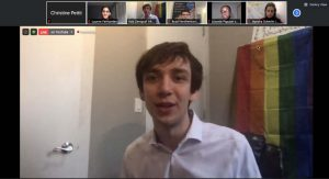 NYPIRG chair Rob Zentagraf at Virtual Student Empowerment Conference