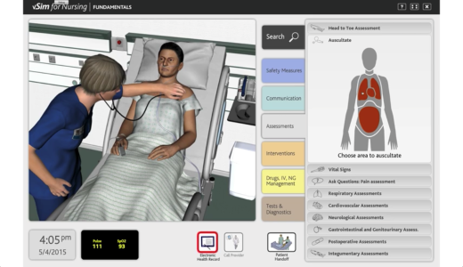 Nursing Students Go from Clinical to Virtual
